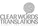Clear Words Tranlations